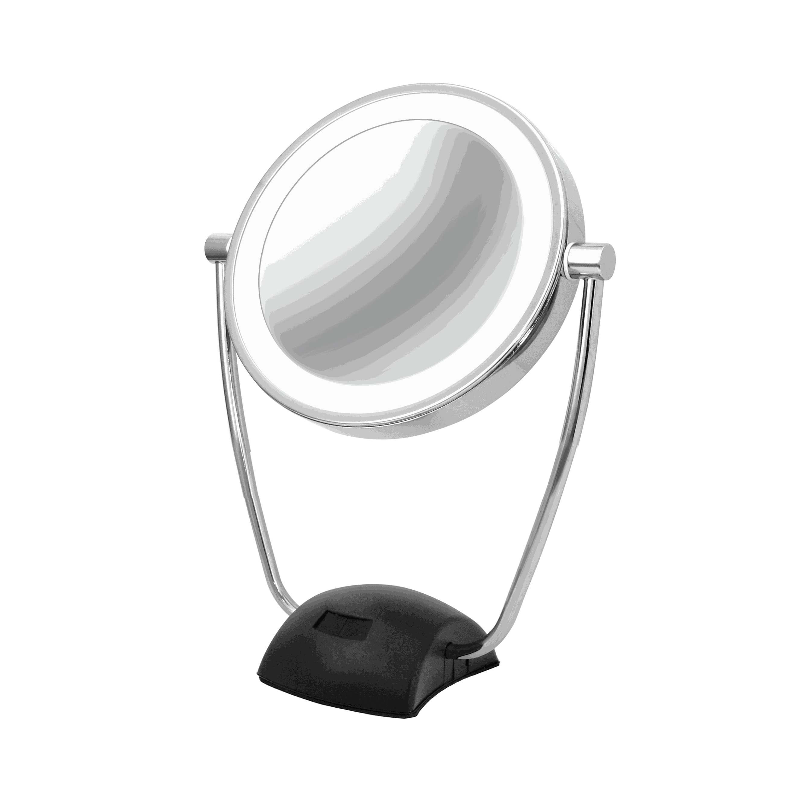 Magnifying mirror 1x/10x rechargeable with automatic lighting MI22.31