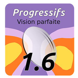 Lens Progressf Vision Perfect Indice 1.6