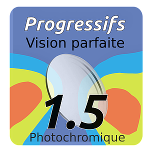 Lens Prog Vision Perfect Photochrom