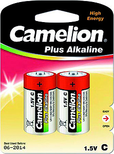Batteries Alcaline Plus LR14 par 2