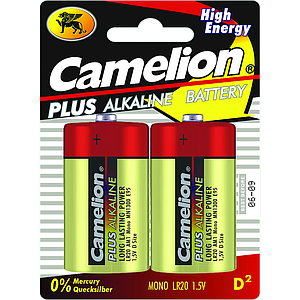 Alkaline batteries LR20 by 2